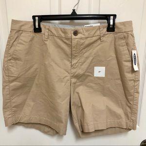 NEW Old Navy Everyday Khaki Shorts 12 stretch